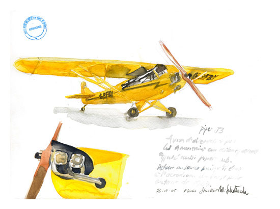 Peintures du TAJP 2005 Piper